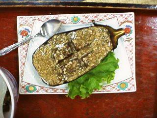 米ナス料理